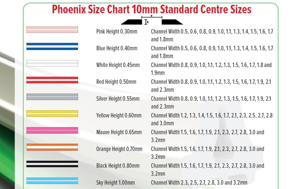 Phoenix-Size-Chart